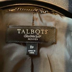 Talbots Jackets & Coats - Talbots Dark Green Velvet Blazer